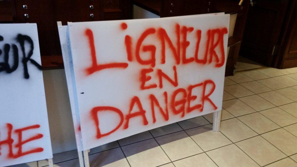ligneurs en danger
